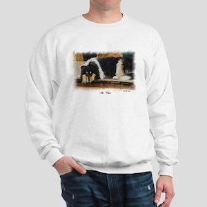 Tri Color Collie Sweatshirt