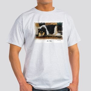 Tri Color Collie Light T-Shirt
