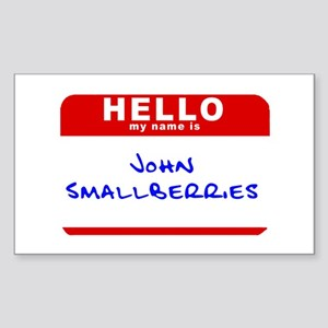 John Smallberries Rectangle Sticker