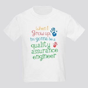 Future Quality Assurance Engineer Kids Light T-Shi