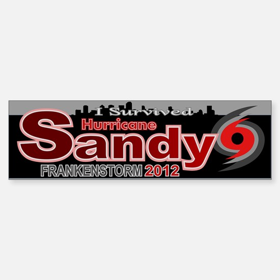 Hurricane Sandy Frankenstorm 2012 Sticker (Bumper)