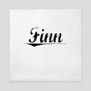Finn, Vintage Queen Duvet