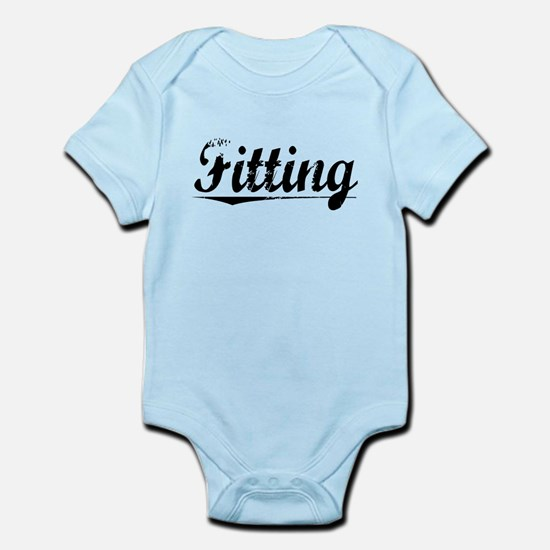 Fitting, Vintage Infant Bodysuit