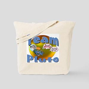 Planet Pluto Tote Bag