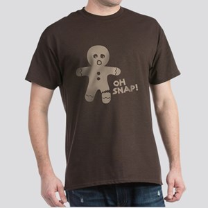 Oh Snap Gingerbread Dark T-Shirt