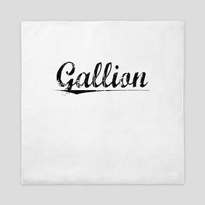 Gallion, Vintage Queen Duvet