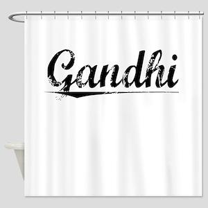Gandhi, Vintage Shower Curtain