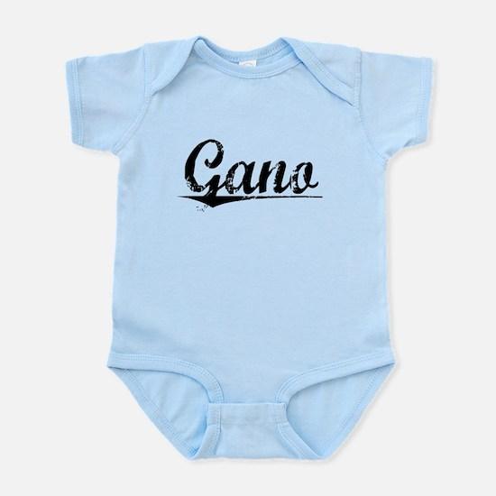 Gano, Vintage Infant Bodysuit