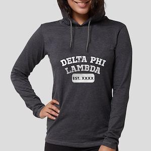 Delta Phi Lambda Athletic Womens Hooded Shirt