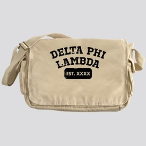 Delta Phi Lambda Athletic Messenger Bag