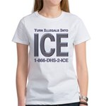 TURN ILLEGALS INTO ICE - Women's T-Shirt