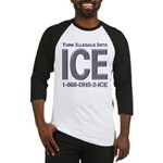 TURN ILLEGALS INTO ICE - Baseball Jersey