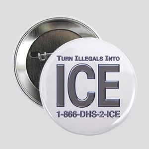 TURN ILLEGALS INTO ICE - Button