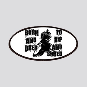 Born And Bred Patches