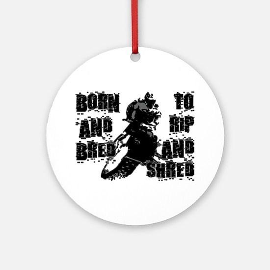 Born And Bred Ornament (Round)