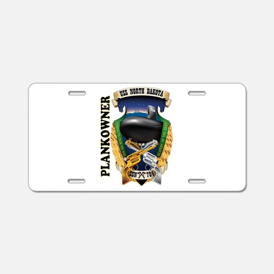 PLANKOWNER SSN 784 Aluminum License Plate