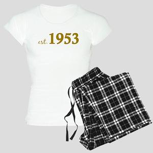 Est 1953 (Born in 1953) Women's Light Pajamas