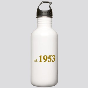 Est 1953 (Born in 1953) Stainless Water Bottle 1.0
