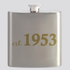 Est 1953 (Born in 1953) Flask