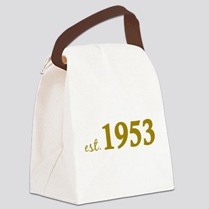 Est 1953 (Born in 1953) Canvas Lunch Bag