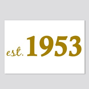 Est 1953 (Born in 1953) Postcards (Package of 8)
