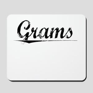 Grams, Vintage Mousepad