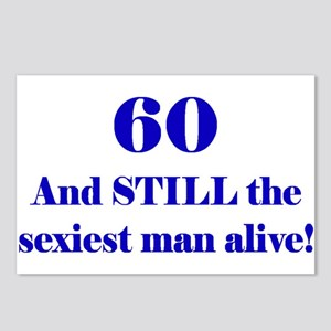 60 Still Sexiest 2 Blue Postcards (Package of 8)