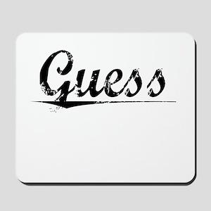 Guess, Vintage Mousepad