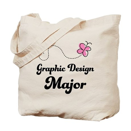 Graphic Design Major Tote Bag