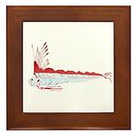 Oarfish (Lilys Deep Sea Creatures) Framed Tile