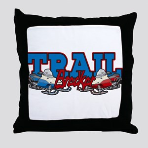 Trail Breaker Throw Pillow