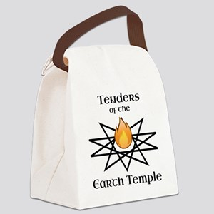 Tenders of the Earth Temple Sigil Canvas Lunch Bag