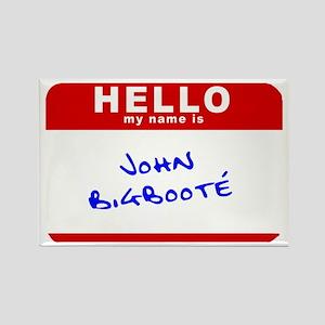 John Bigbooté Rectangle Magnet