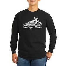 Vintage Rider Long Sleeve Dark T-Shirt
