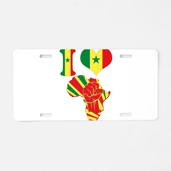 Unique Desi Aluminum License Plate