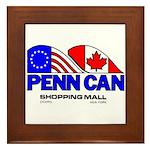 Penn Can original logo Framed Tile