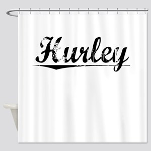 Hurley, Vintage Shower Curtain