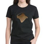 Bat Ray Women's Dark T-Shirt