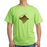 Bat Ray Green T-Shirt