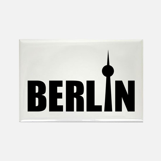Berlin Rectangle Magnet
