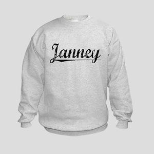 Janney, Vintage Kids Sweatshirt