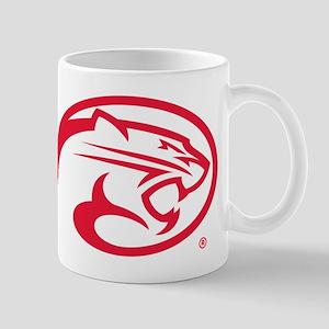 Houston Cougar Mascot Logo 11 oz Ceramic Mug