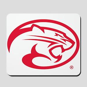 Houston Cougar Mascot Logo Mousepad