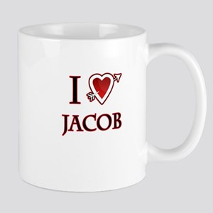 i love jacob heart Mug