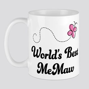 Worlds Best MeMaw Mug