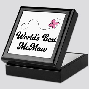 Worlds Best MeMaw Keepsake Box
