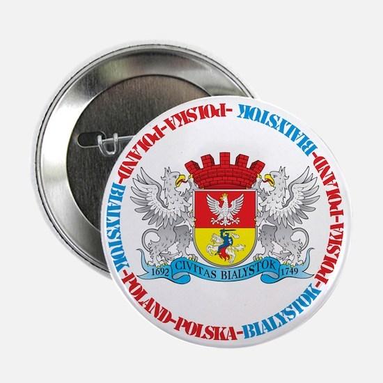 Polish Crest of Bialystok Button
