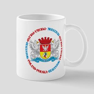 Polish Crest of Bialystok Mug