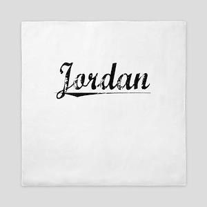 Jordan, Vintage Queen Duvet