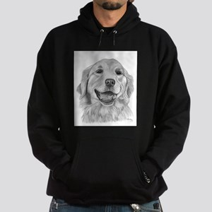 Golden Retriever Hoodie (dark)